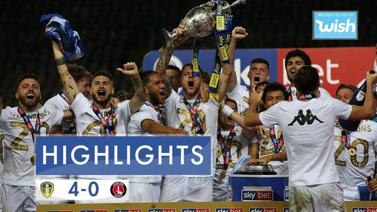 Highlights: Leeds United 4-0 Charlton Athletic