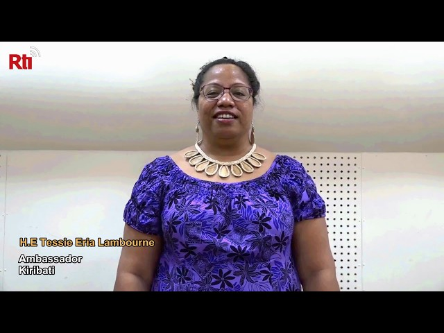 Preview of Interview with H.E Tessie Eria Lambourne 【央廣英語】