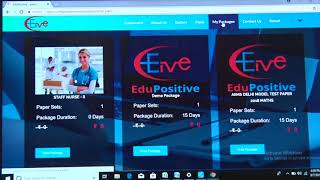how to use online test series by Tagore Nursing Academy (www edupositive com)