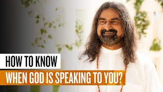 Hearing God's voice - H๐w to know when God is speaking? I Mohanji