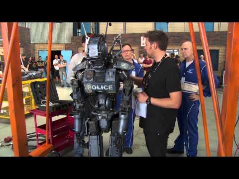 Chappie  Footage  Hugh Jackman, Sigourney Weaver, Sharlto Copley, Dev Patel