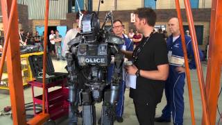 Chappie Behind The Scenes Footage - Hugh Jackman, Sigourney Weaver, Sharlto Copley, Dev Patel