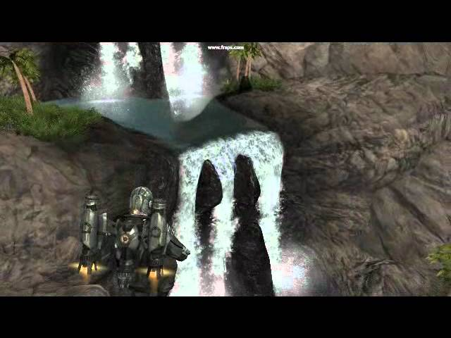 Waterfall test - UE3