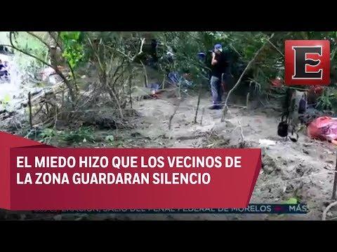 Suman 170 cráneos hallados en Veracruz