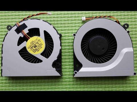Принудительное увеличение числа оборотов вентилятора системы охлождения ноутбука