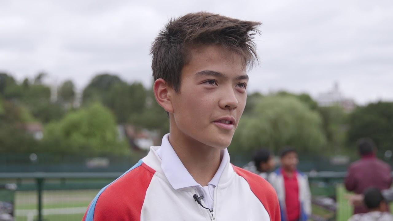 Road to Wimbledon Finals: Regional Boys' Singles Champion Lui Maxted
