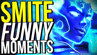 THE BLIND SNIPE! (Smite Funny Moments)