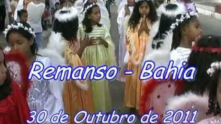 Festa de Nossa Senhora do Rosário 2011 parte 1 - Remanso Bahia