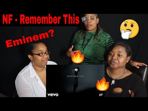 🔥New Eminem🤔 NF - Remember This Reaction | J100, Aunt, and BB