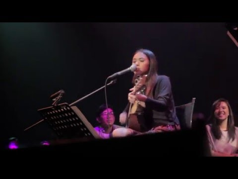Clara Benin and Dane Hipolito - My Stupid Mouth (a John Mayer cover) Live at Confessions