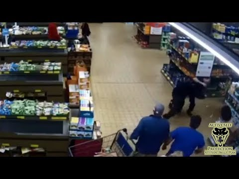 Brave Bystanders Work as a Team to Smother Robber | Active Self Protection