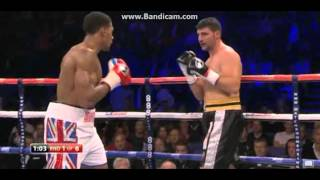 Anthony Joshua 1st Round KO On Pro Debut (1st Fight)