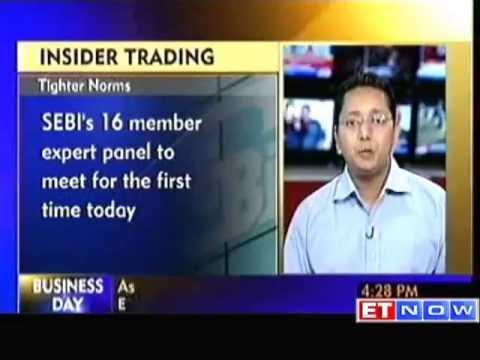 SEBI Expert Panel meet to Revise Insider Trading Laws