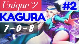 Uniqueツ(Yunique) Playing Kagura #2  | Mobile Legends  Kagura Gameplay and Build by Uniqueツ(Yunique)