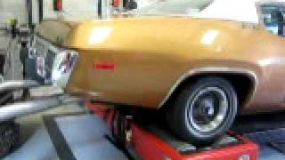 1974 PLYMOUTH SATELLITE CHASSIS DYNO TEST
