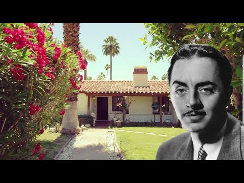 #1005 WILLIAM POWELL's Grave & Home in PALM SPRINGS - Jordan The Lion Daily Travel Vlog (5/8/19)