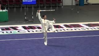 2012 World Junior Wushu Champ   TJJ A   SAITO SHIHO   JPN   9 32   5