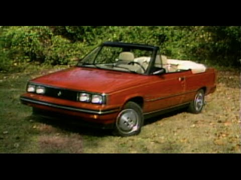 MotorWeek | Retro Review: 1985 Renault-AMC Alliance Convertible