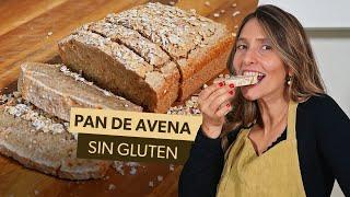 Receta de PAN DE AVENA: ¡fácil, rápida y sin gluten!