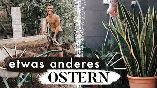 Frühjahrsputz & Gartenarbeit - unser Osterwochenende | MANDA Vlog