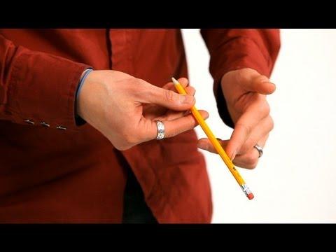 How To Do The 2 Pencil Logo Trick Magic Tricks Youtube