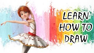 LEAP! (Ballerina) | How to Draw Félicie Milliner