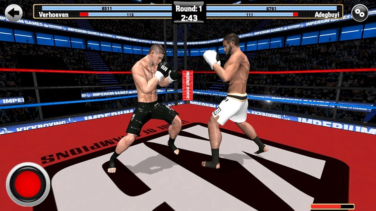 Kickboxing Road To Champion By Imperium Multimedia Games