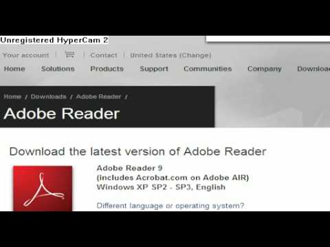 How To Download Adobe Reader