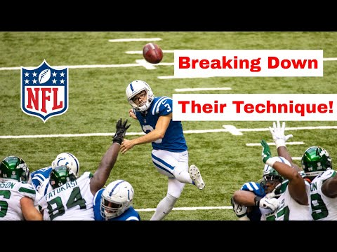 Reviewing Professional Field Goal Kicker Techniques