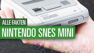 Nintendo SNES Mini - Alle Fakten