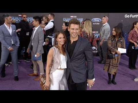 "Nick Viall and Vanessa Grimaldi ""Guardians of the Galaxy Vol 2"" World Premiere"