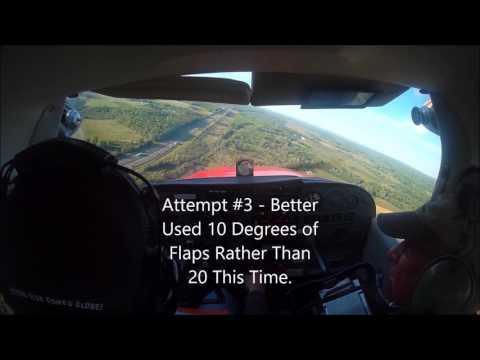Lesson Cessna 172 Max Crosswind Component Landings
