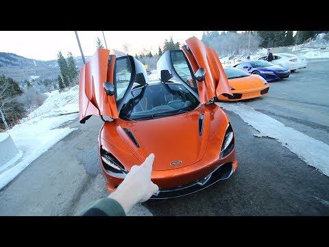 Driving my $400,000 DREAM SUPERCAR