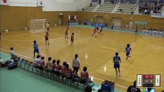 2019年IH ハンドボール 女子 2回戦 神埼清明(佐賀)VS 水海道第二(茨城)