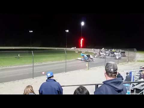 Empire super sprints at Mohawk International Raceway