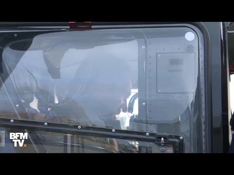 La visite en hélicoptère de Castaner à Virsac ne passe pas