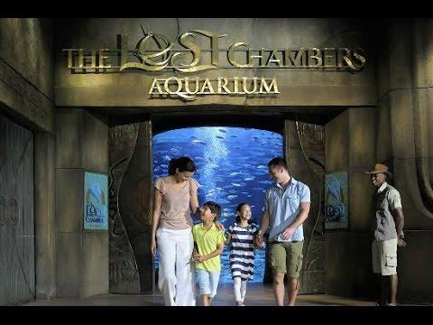 The Lost Chambers Aquarium in Atlantis, The Palm, Dubai, UAE