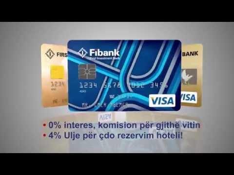 FiBank Albania - Credit Cards - Summer 2015