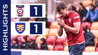 📺 Late Goal Forces FA Cup Replay | York City 1-1 Morpeth Town | Highlights
