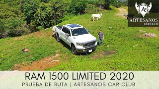 RAM 1500 Limited 2020 | Prueba de ruta | Artesanos Car Club YouTube Videos