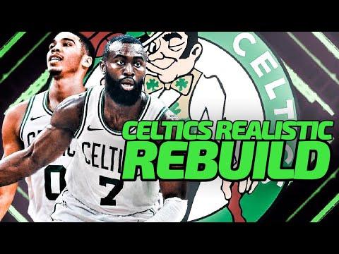 Jaylen Brown Got PAID! Boston Celtics Realistic Rebuild! NBA 2K20