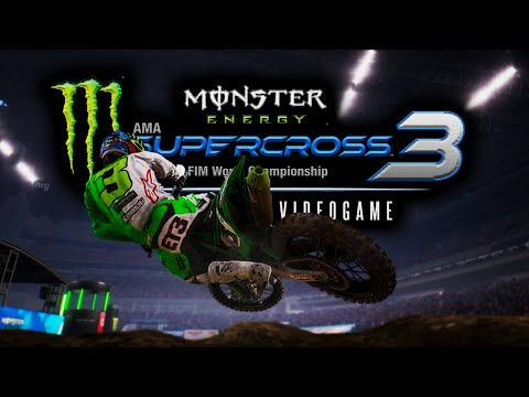 MONSTER ENERGY SUPERCROSS THE GAME 3 - COMPOUND GAMEPLAY