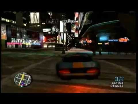 GTA 4 - SPORTS CARS - RACE - XBOX 360 -...