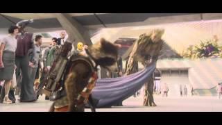 Guardians of the Galaxy Xandar Fight Scene