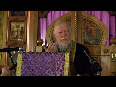Протоиерей Димитрий Смирнов. Проповедь о смысле христианской жизни