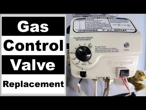 Gas Valve Replacement on a Water Heater