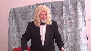 Моноспектакль Моцарт и Сальери 11 мая 2016 г  в биб-ке пос Песочный Л о