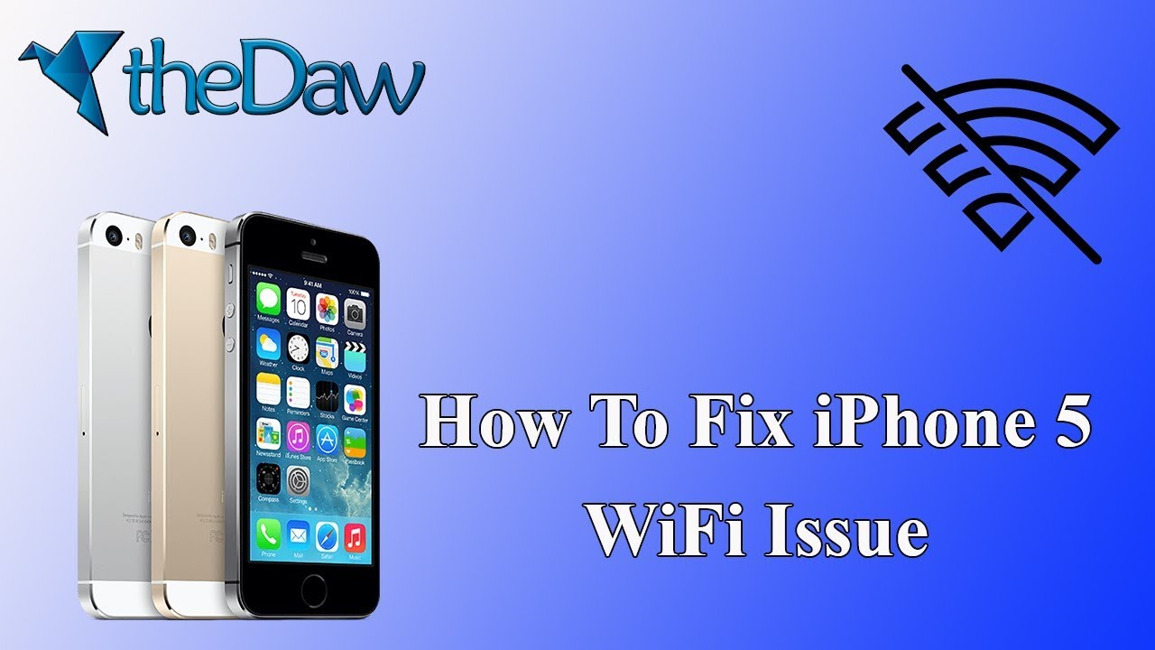 How to Fix WiFi Connection Issue of iPhone5 | iPhone Tips | theDaw