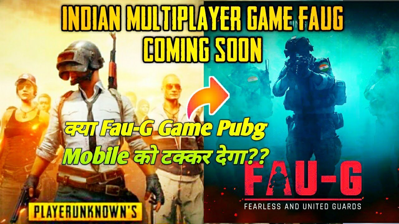 Download FAUG New Indian Game coming soon   INDIAN MULTIPLAYER ACTION GAME FEARLESS AND UNITED GUARDS FAU-G