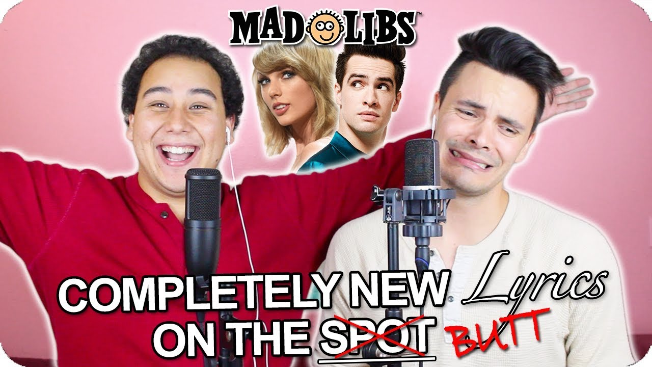 Taylor Swift Brendon Urie Me Madlibs Cover Live One Take